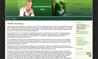 Greendining